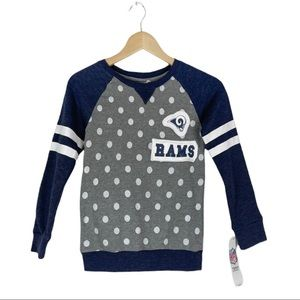 NFL Girls LA Rams Sweatshirt Size 6X